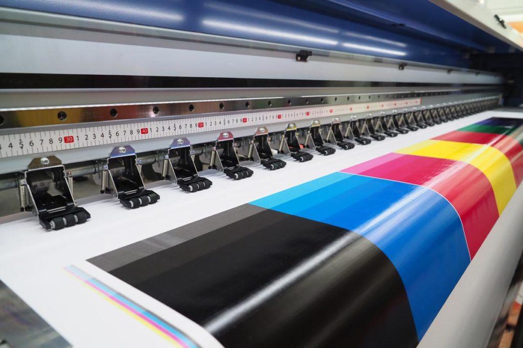 Druck und Werbezentrum Lengerich - Produktion Grossformatdruck