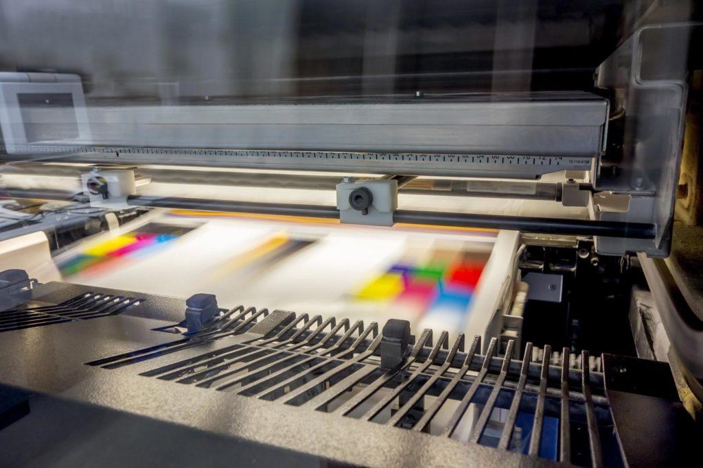 Druck und Werbezentrum Lengerich - Produktion Offsetdruck